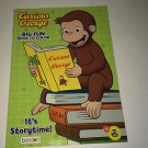 Curious George Big Fun Book To Color Brand New