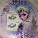 Ardell Disney Frozen ELSA Demi Wispies Brown Eyes Fake Eyelashes Set Black &Blue