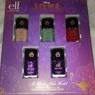 e.l.f. Limited Ed. Disney JASMINE 5pc Quick Dry Nail Polish Collection Gift Set