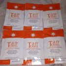 Six *TanTowel Classic Self-Tan Towelettes* Face &Half Body (6 X .25oz/7.5ml) Lot