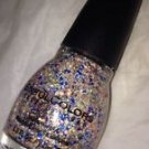 Sinful Colors PINATA BLAST Nail Polish *BAILA BAILA* Multi Color Matte Glitters