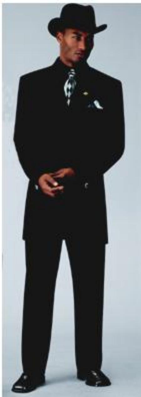 Men's Sharp Black Fashion Zoot Suit  For more info : Check out www.mensusa.com