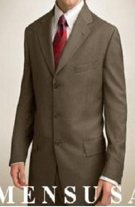 light weight Signature Gold Series Dark Olive Green  Made with premeier quality italian fabric suit