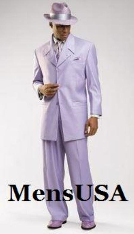 Beautiful Mens Lavender Fashion Dress With Nice Cut Smooth Soft Fabric