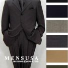 Highest Quality 4 Buttons No Vent Solid Colors Pleated Pants 1 Worsted Wool