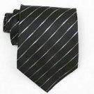 Silk Black /Metallic Woven Necktie