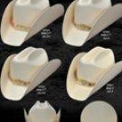 Taco Style Western Cowboy Straw Hat
