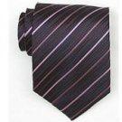 Silk Navy/Pink Woven Necktie