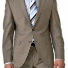 Professional Mini Pindots Teakweave Nailhead Salt & Pepper Birdseye Patterned 2 Btn Summer Suit