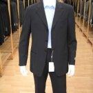 Men'S Navy Blue Men'S Single Breasted Discount Cheap Dress 3/4 Button Suit