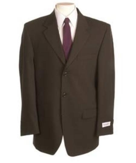 New Choclate Brown Single Breasted Discount Dress 2Or3 Button Suit