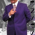 Mu99 Purple Single Breasted Men Dress Suits