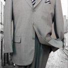 Super 120'S G-Gray Solid Color Suit