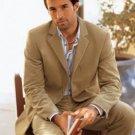 Camel Color Super 150'S Wool Men'S Suit By Signature Platinum Stays Cool Tailoredi