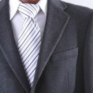 MenS 2 Button Lamb Wool Cashmere Sport Coat Charcoal