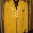 Men'S Sequin Jacket/Blazer In Gold