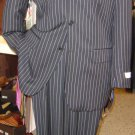 Men'S Sharp Bold White Pinstripe Available In 5 Colors (Dress To Kill!)