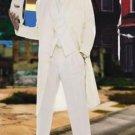 Men'S Super Stylish Long Off White/Ivory/Cream Fashion Dress Zoot Suit 38 Inch Long