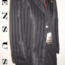 Shiny Black Ton On Ton Mens Fashion Dress Suits