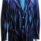 Mens Long Zoot Suit Blue