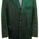 Mens Stylish Zoot Suit Olive