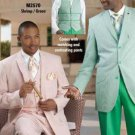 Men'S Seersucker Suit Available In White, Tan, Green, Lavender, Blue & Shrimp