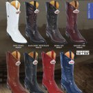 Los Altos J-Toe Genuine Ring Lizard Mens Western Cowboy Boots Diff. Colors/Sizes