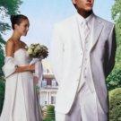 White 3-Button Tuxedo