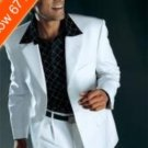 Men'S White Suit All Year Around 3 Button Suit
