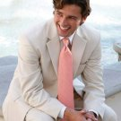 Light Tan 2 Button Wedding Suit
