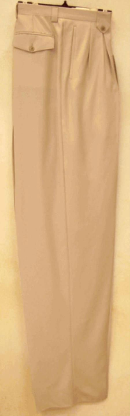 Rust Wide Leg Dress Pants