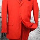 Super 120'S G-Red Solid Color Suit