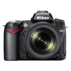 Nikon D90 with 18-105mm lens kit