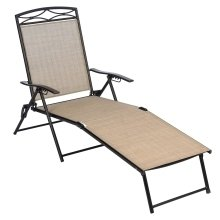 Living Accents Folding Lounger, set of 2, Chaise Lounge