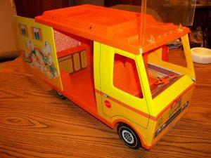 1971 vintage barbie camper