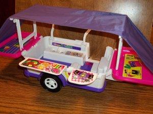barbie popup camper