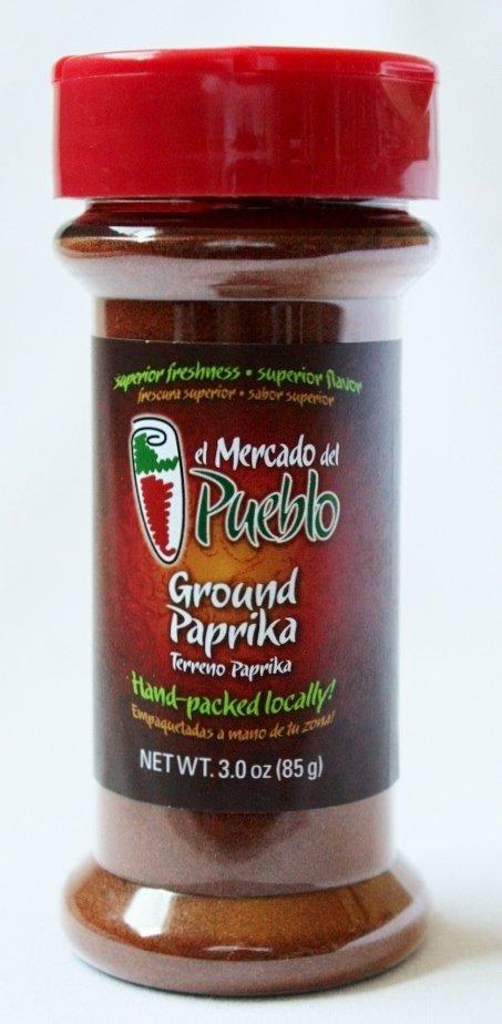 Ground Paprika, 3 Oz