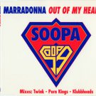 Marradonna - Out Of My Head 97 CD Single NEW