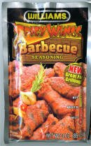 Williams Spicy Wings Barbecue  Seasoning