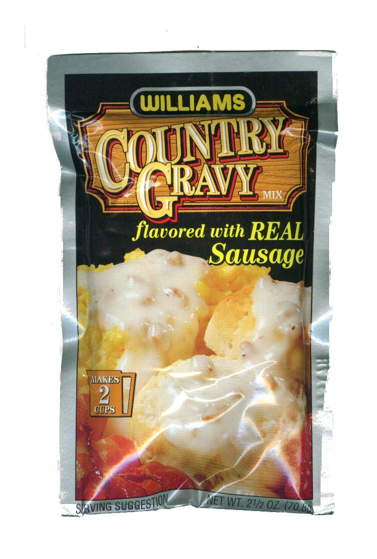 William's Country Gravy w/Sausage