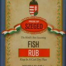 SZEGED Hungarian - Fish Rub