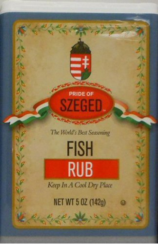SZEGED Hungarian - Fish Rub