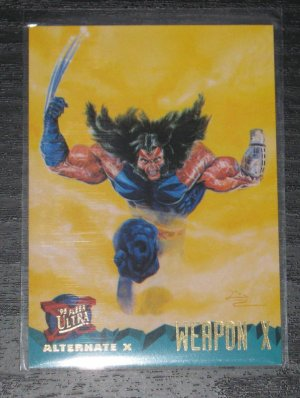 1995 Fleer Ultra X-Men WEAPON X Unumbered Promo Card FREE SHIPPING