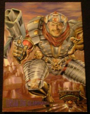 "1995 Fleer Ultra Skeleton Warriors Promo ""Ursak"" NM FREE SHIPPING"