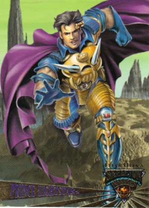 Skeleton Warriors Prince Lightstar Promo Card 1995 NM FREE SHIPPING