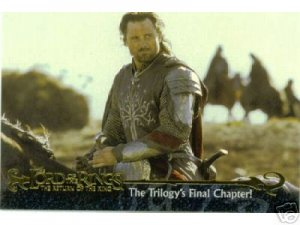 2003 Lord of the Rings Return of the King Promo Card P1 NEAR MINT FREE SHIPPING