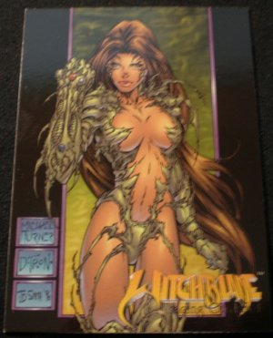 1996 Top Cow Witchblade Promo Card NM FREE SHIPPING
