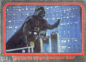 STAR WARS CHROME ARCHIVES PROMO P1 DARTH VADER CARD NEAR MINT FREE SHIPPING
