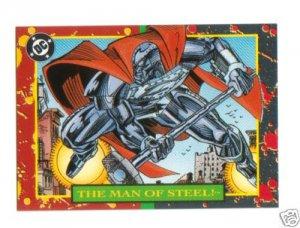 SUPERMAN 1993 DC BLOODLINES PROMO CARD # P1
