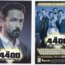 The 4400 Season 2 promo card P2 NM FREE SHIPPING